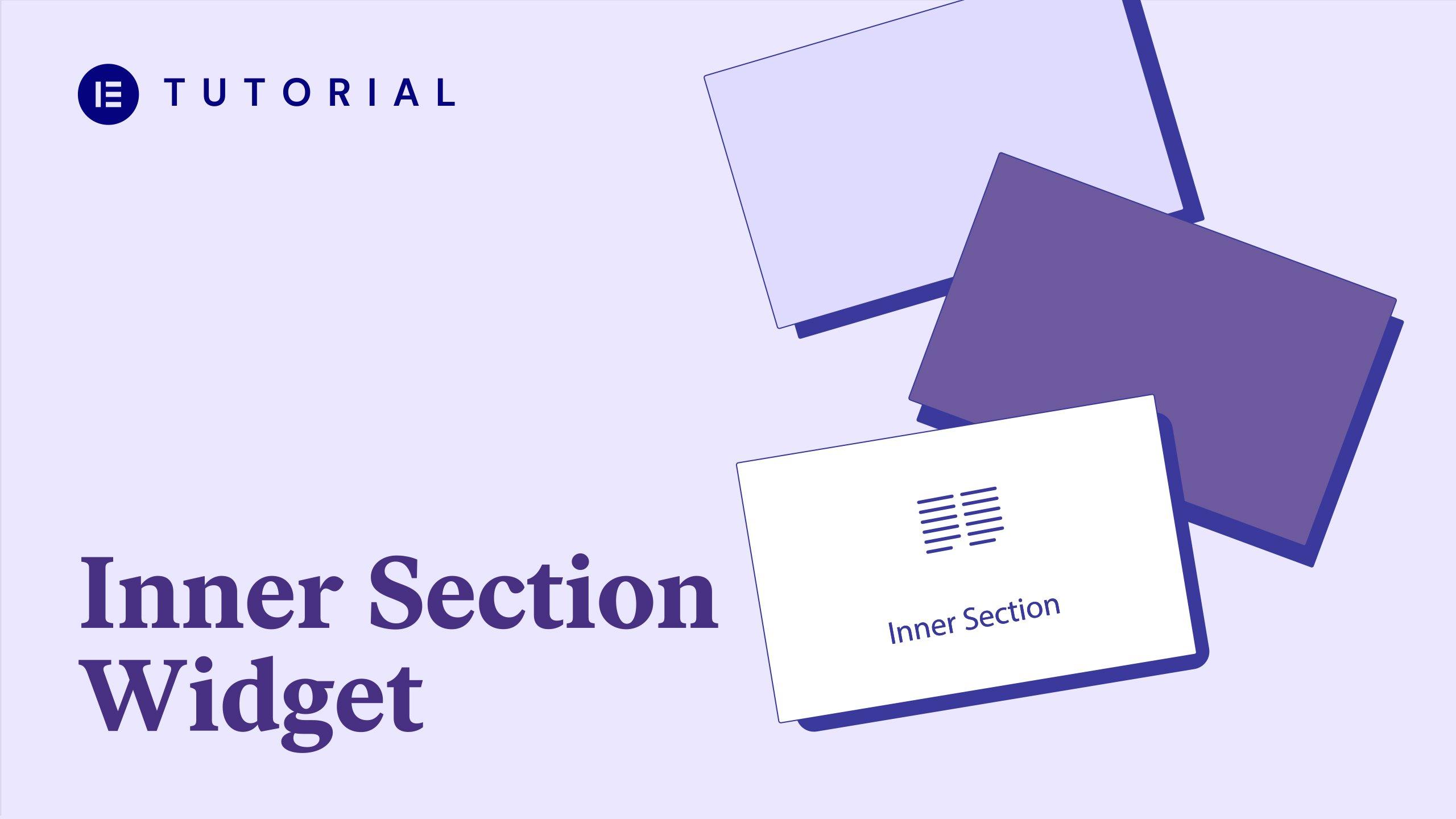 inner section widget