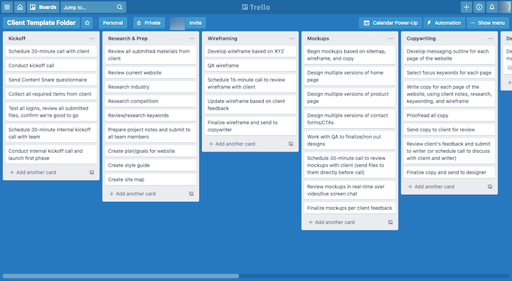 trello-website-planning