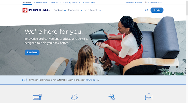 popular-bank-website