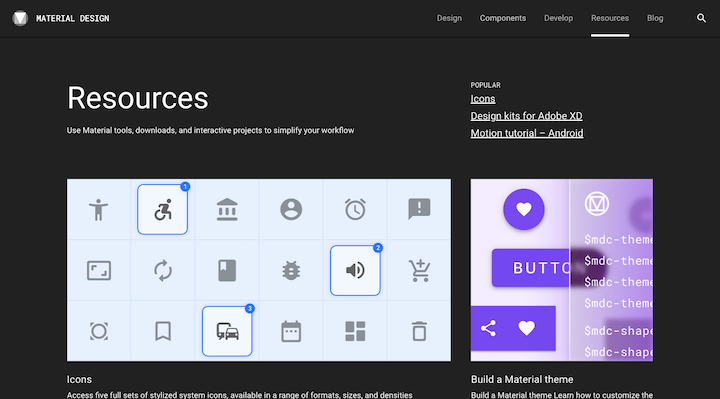 material-design-resources