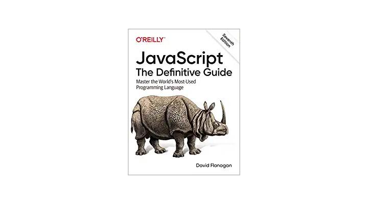 JavaScript: The Definitive Guide. A web development book that teaches you JavaScript fundamentals