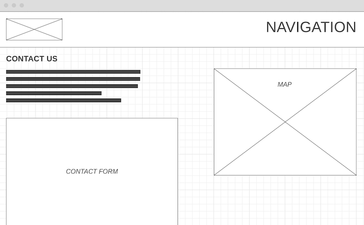contact-page-wireframe