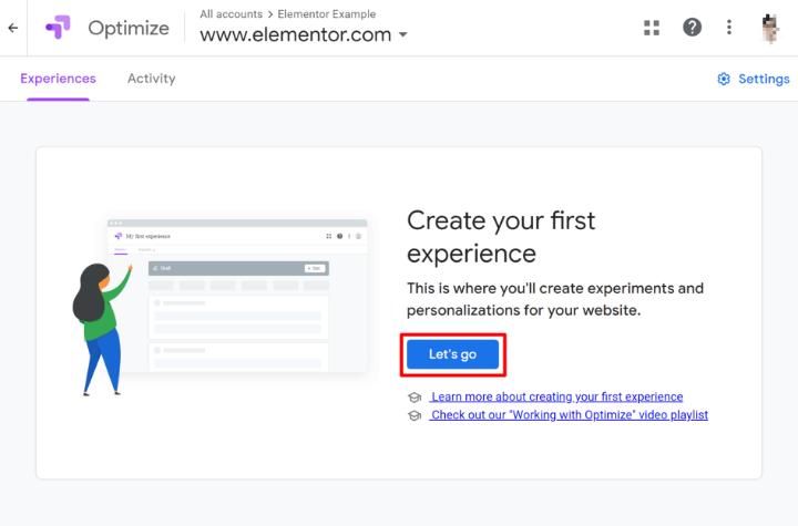 create-google-optimize-experience-1