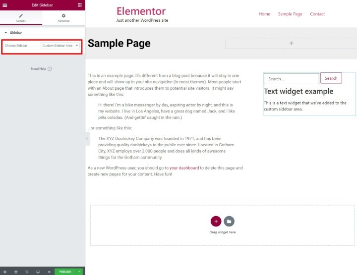 custom-wordpress-sidebar-5-add-sidebar-widget-in-elementor