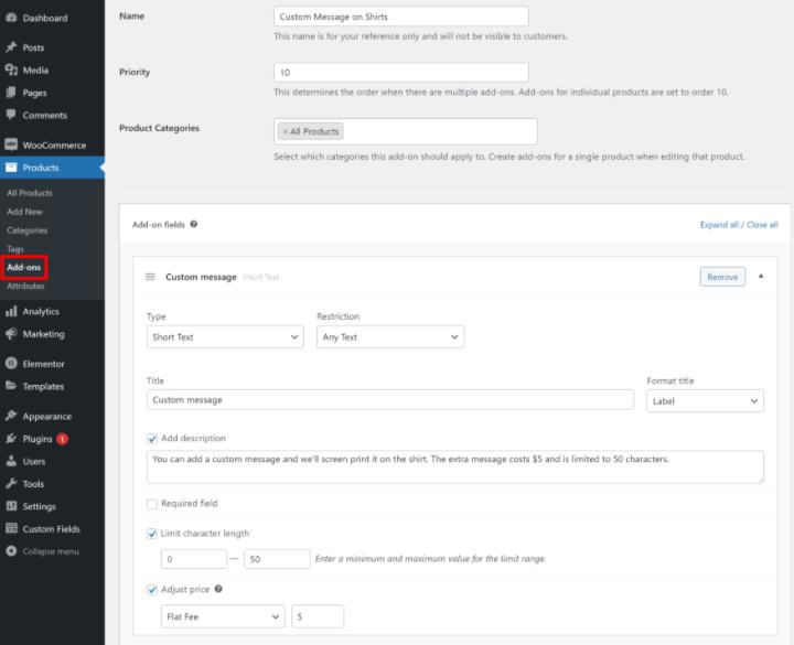 woocommerce-custom-fields-tutorial-5-creating-product-add-on-fields