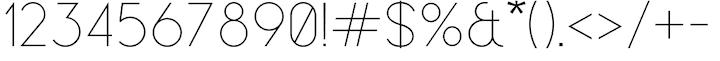 leaner-typeface