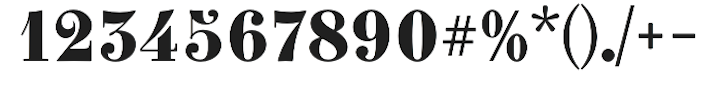 clementnumbers-font