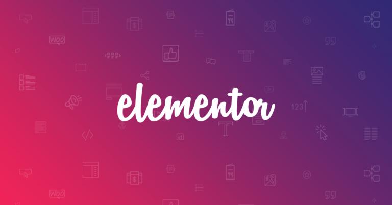 elementor page builder wordpress title