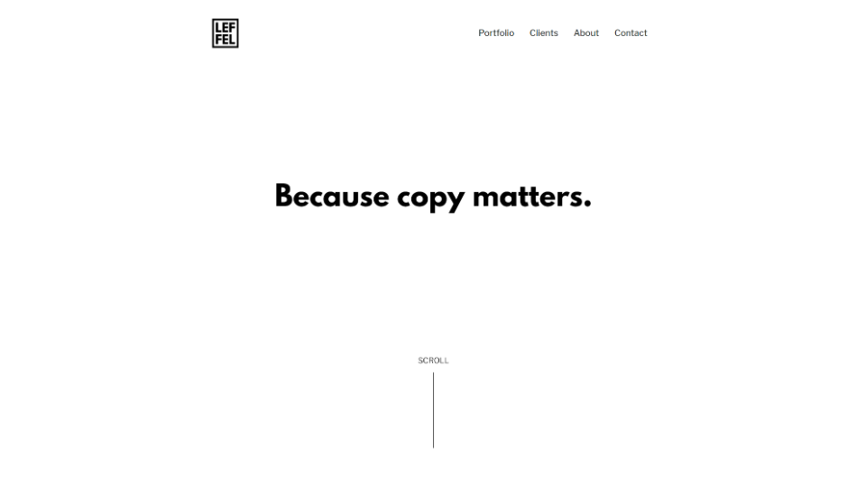 Minimalist web design elementor wordpress shira leffel