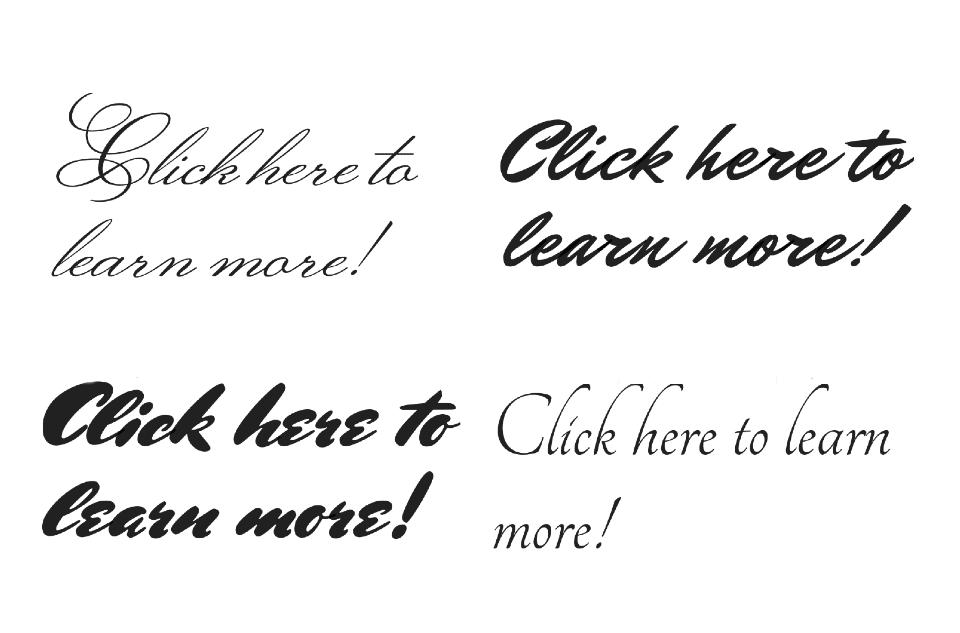 Cursive_text_design_button_wordpress_elementor