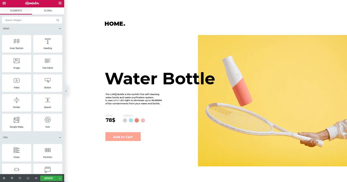Elementor WooCommerce tool