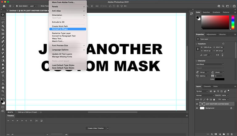 Create Mask In Photoshop