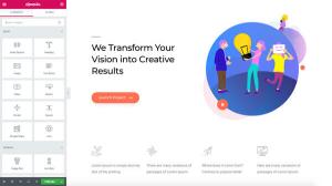 Start building professional websites
