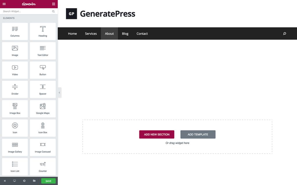 elementor-generatepress