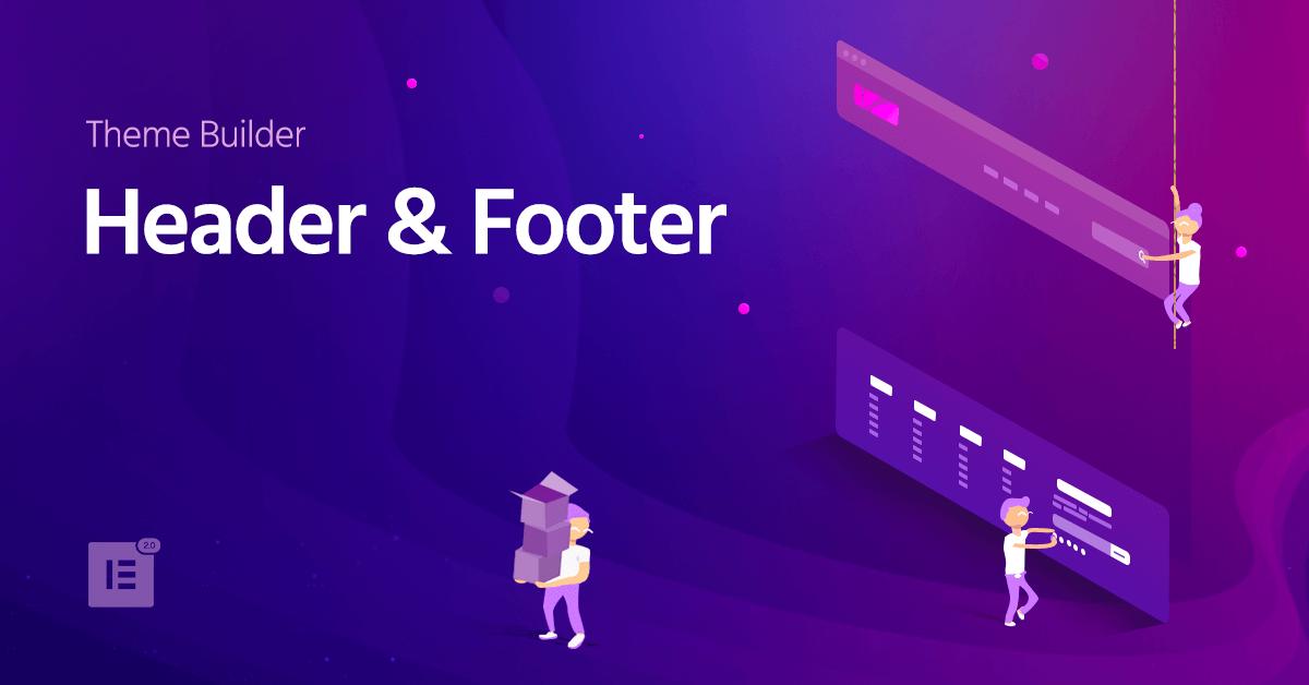 Elementor header template free printable