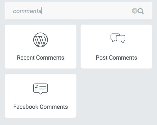 Post Comments block