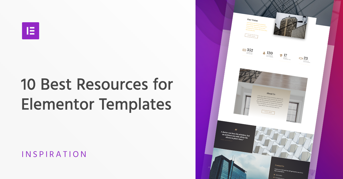 Elementor Archive Template Free