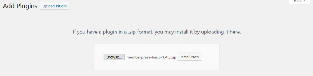 a screenshot showing how to add plugins in wordpress