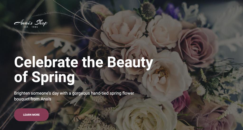 6. Florist Wedding Template