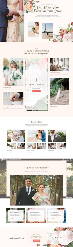 8. Wedding Planner Template