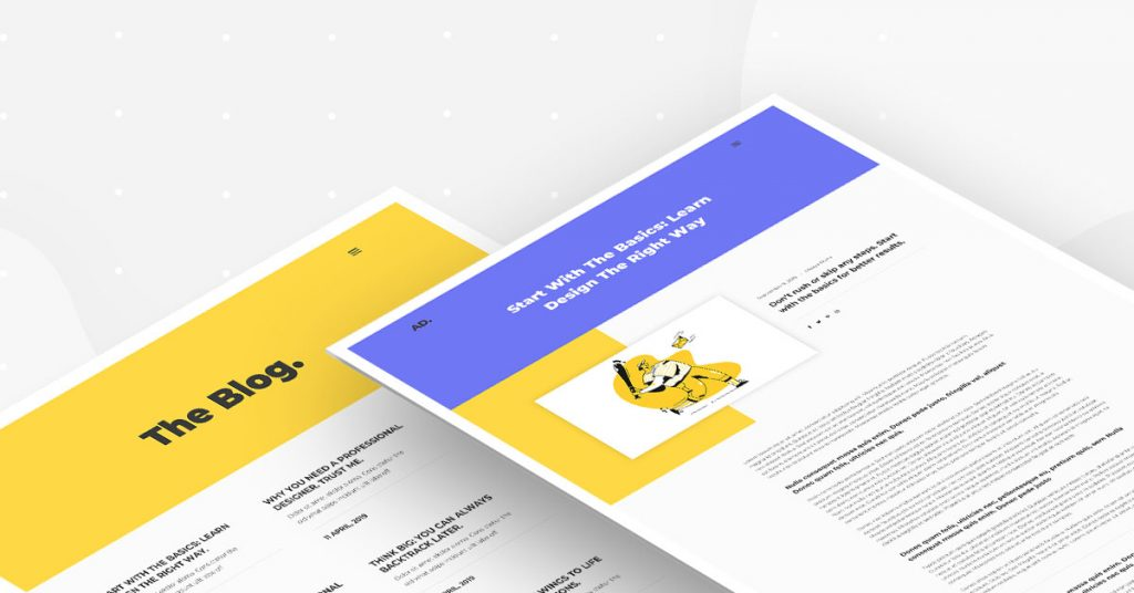 Portfolio Kit - Blog + Post