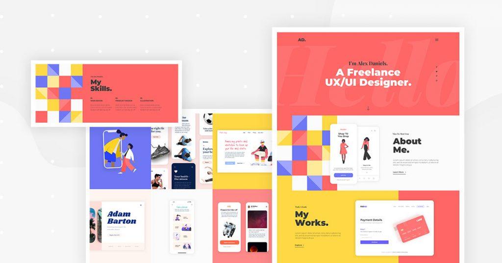 Portfolio Kit - Home page
