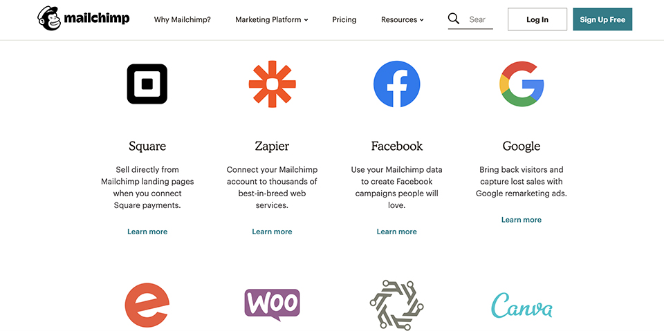 Mailchimp Integrations in Email Marketing Workflow