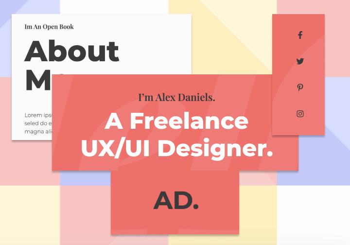 web designer brand identity
