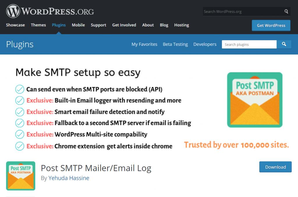 Post SMTP