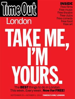 time out london typography