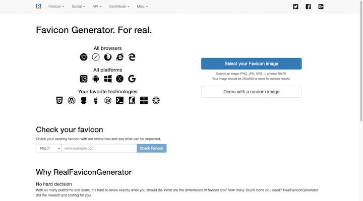 real-favicon-generator