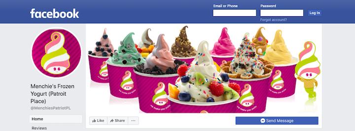 Facebook'ta menchies