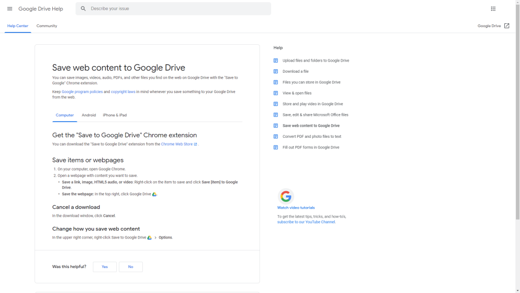 google-drive-help-article