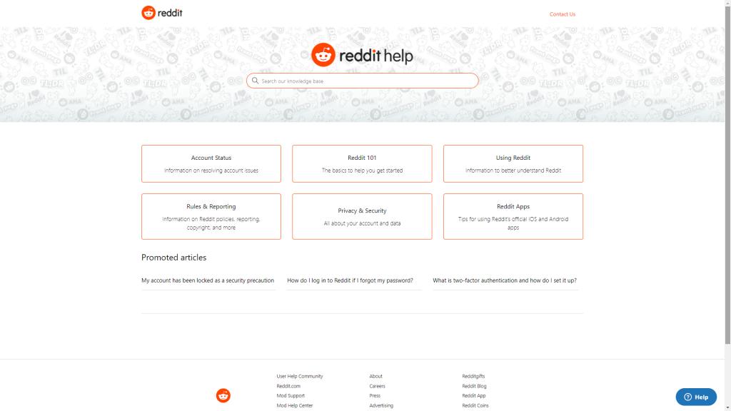 reddit-help-center