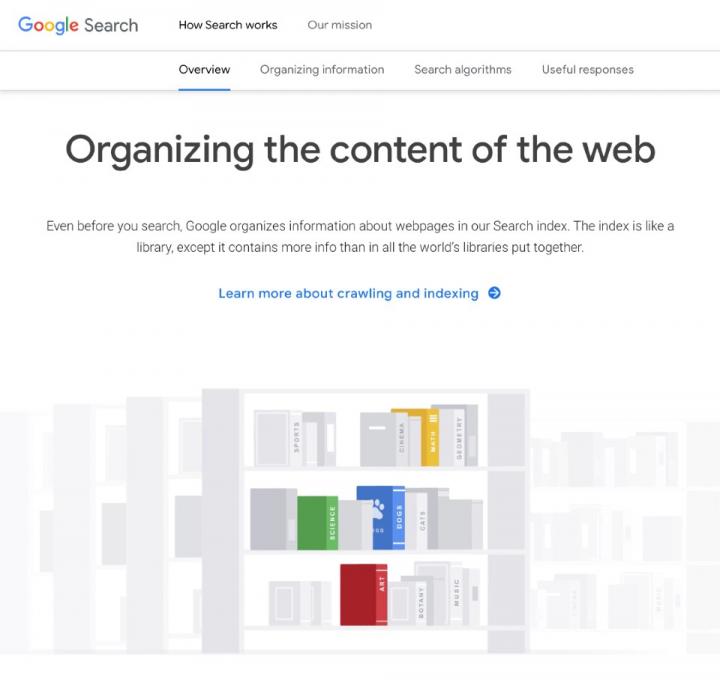 Google_site_crawlers_Organising_web_content__WordPress_Monday_masterclass