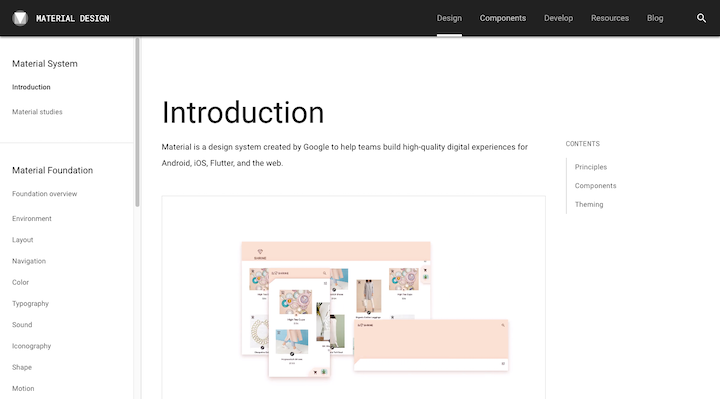 material-design-introduction-page