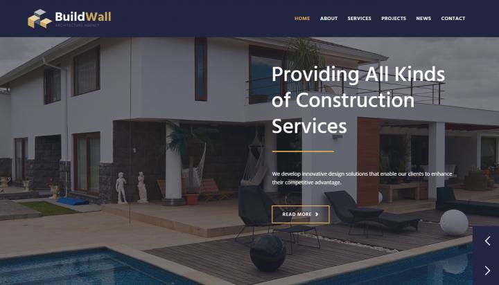 BuildWall Template