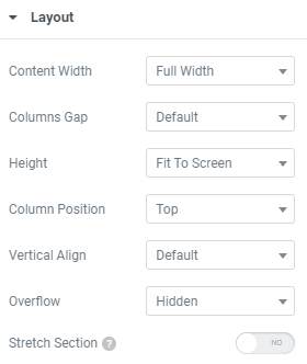 Create a Full-Width Section