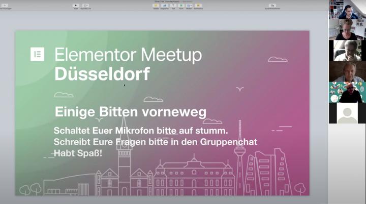 Dusseldorf meetup 2020