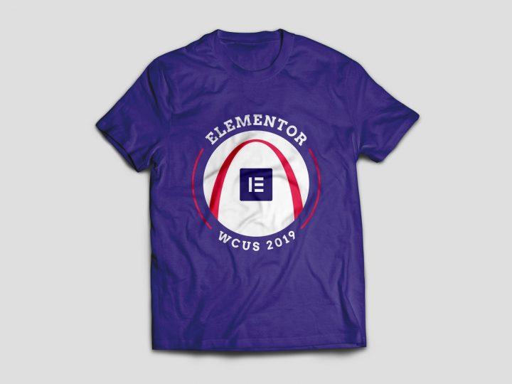 Elementor T-Shirt WCUS2019