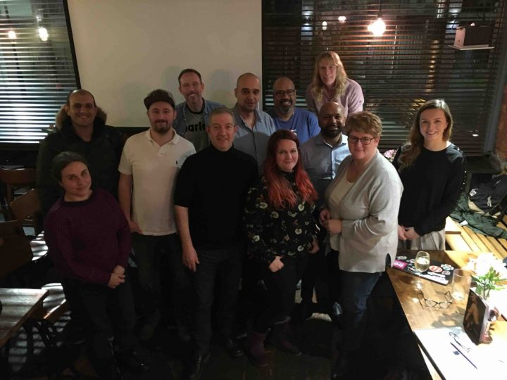 First Manchester meetup Jan 2020