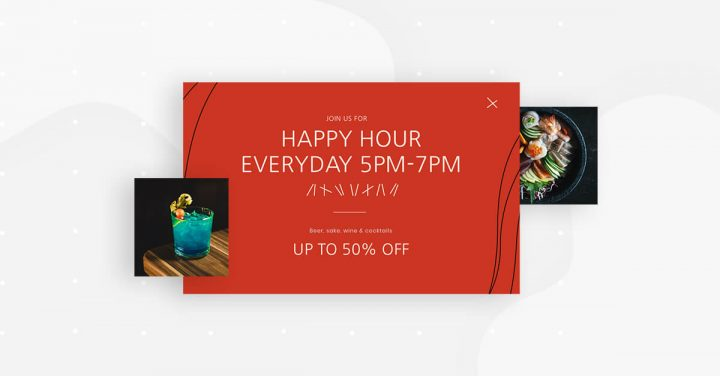 Happy Hour Popup