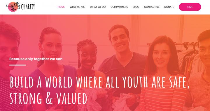Kids nonprofit organization template