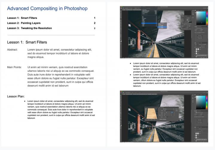 Lesson-plan-online-wordpress-elementor-course