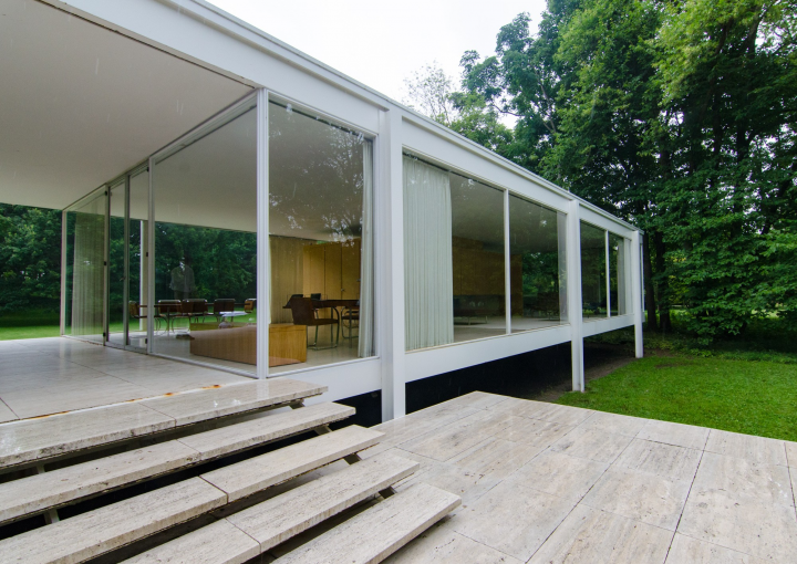 Ludwig Mies Van der Rohe design. Photo by Eric Allix Rogers