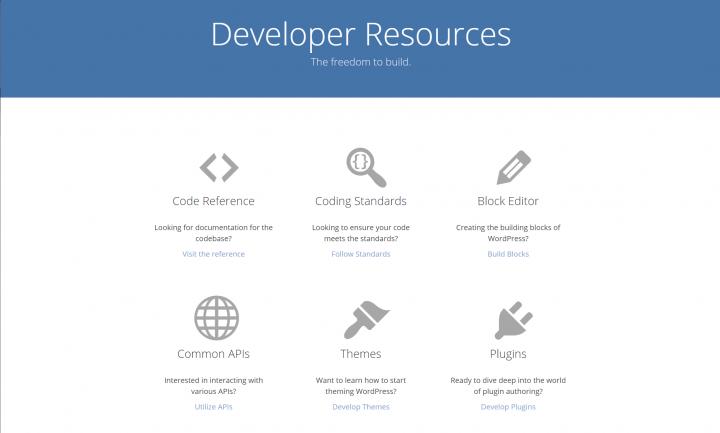 Official WordPress.org Developer Resources