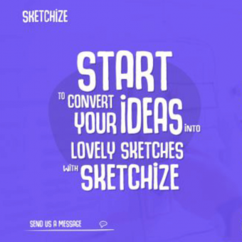Sketchize - an old school web design tool