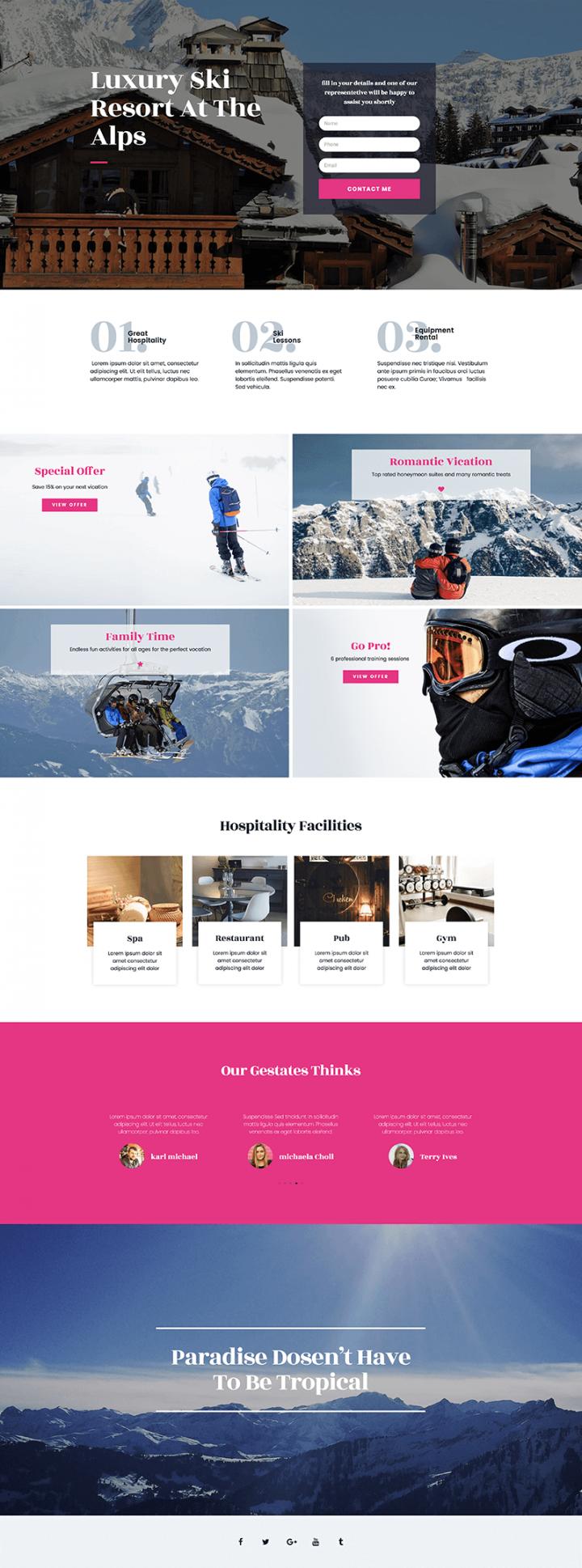 Ski - home