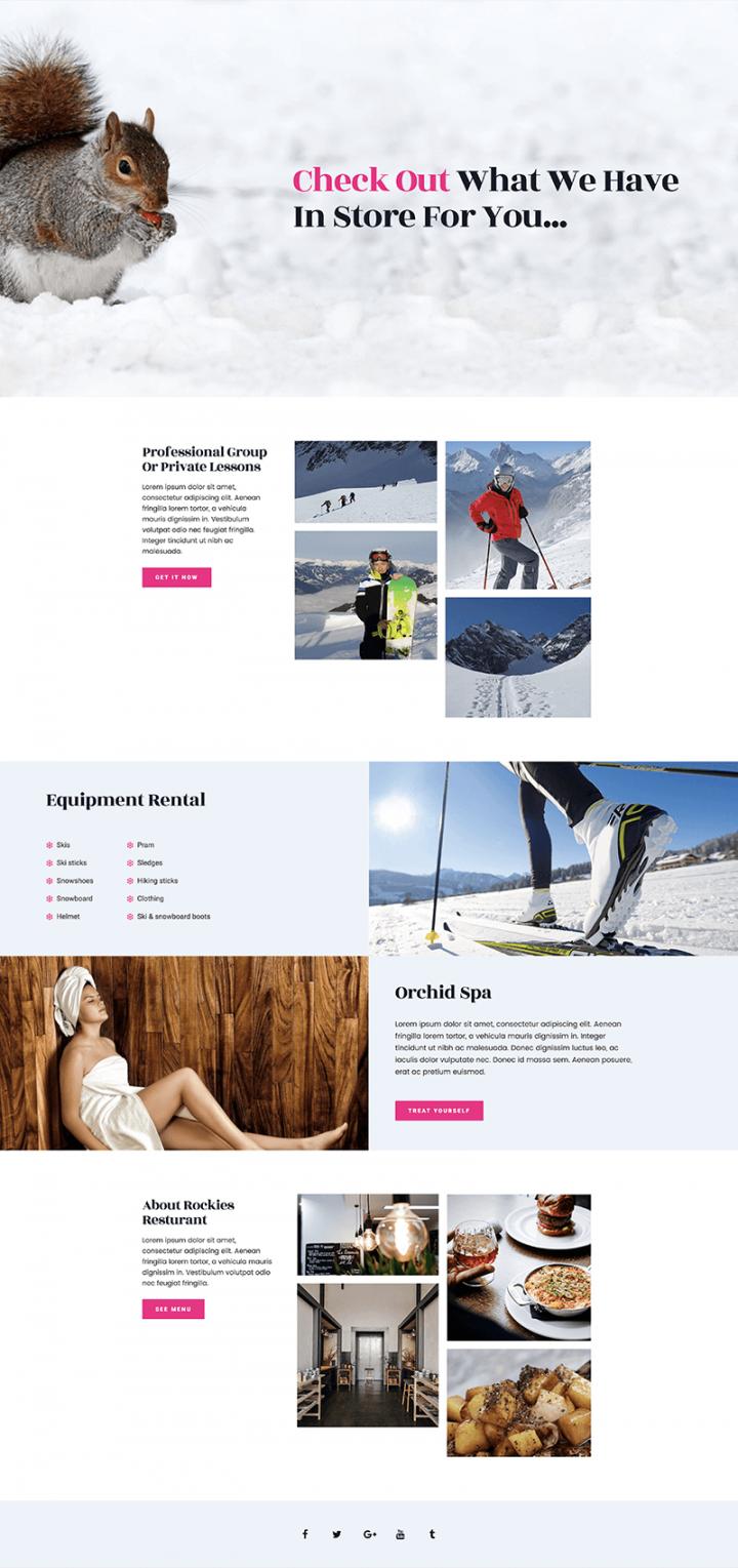 Ski - services