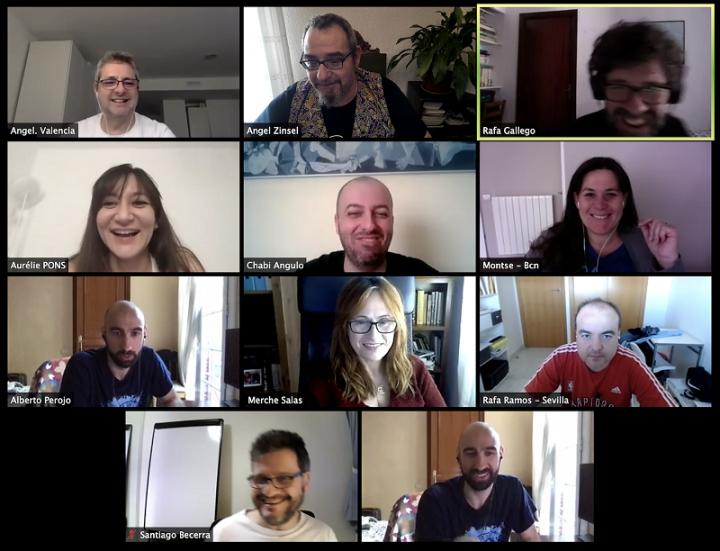 Spanish community online meetup april 2020